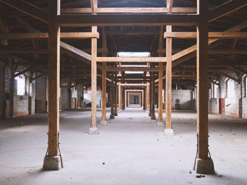 Güterbahnhof innen