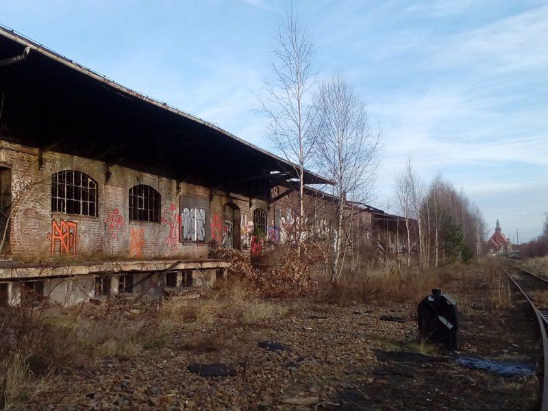 Güterbahnhof außen